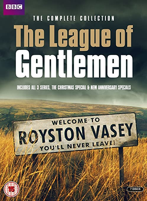 The League of Gentlemen complete collection front cover