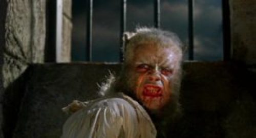 Oliver Reed as Leon the werewolf in Curse of the Werewolf