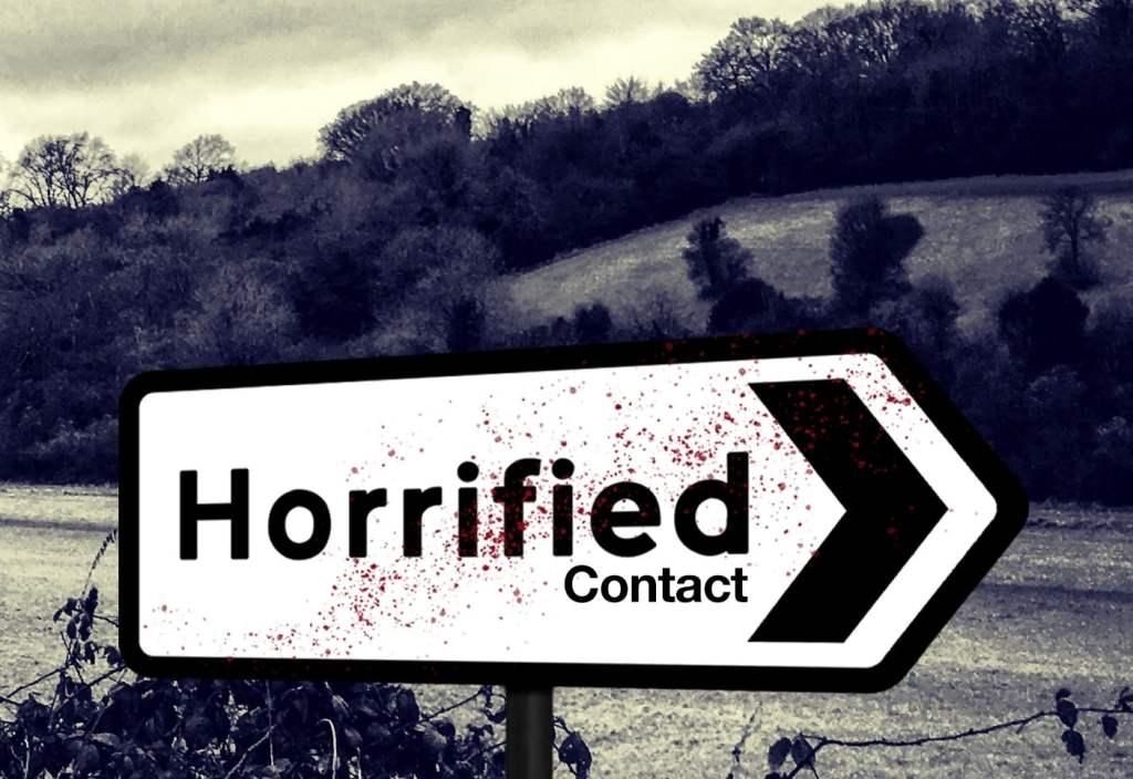 horrified contact