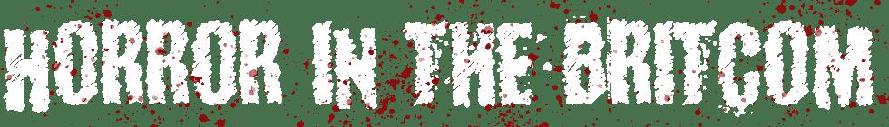horror in the britcom logo