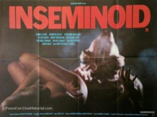 inseminoid british poster