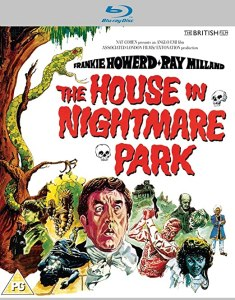 the house on nightmare park blu ray cover
