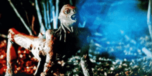 The alien creature from Xtro