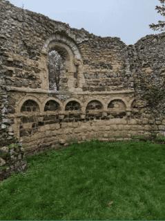Dunwich Leper Chapel and St. James Church