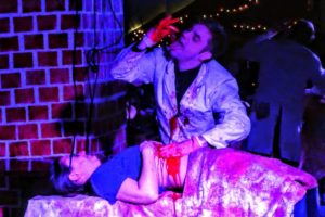 Ash Pryce performing Psychic Surgery