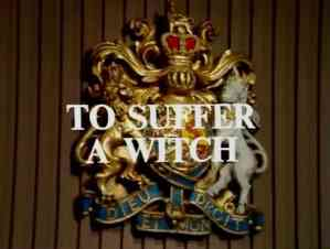 crown court - to suffer a witch