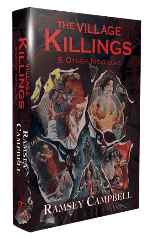 the village killings other novellas hardcover ramsey campbell 5637 p