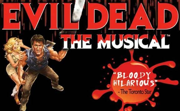 Evil Dead the Musical Banner