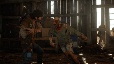 Days Gone - Axe Melee ® 2016 capcom Sony Interactive Entertainment
