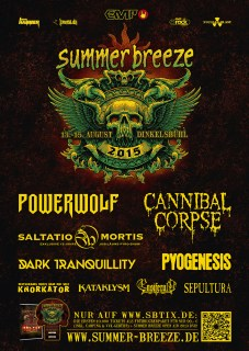 Summer Breeze LineUp 2015