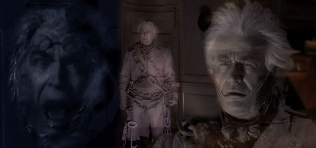 Bernard Lloyd - - Jacob Marley - A Christmas Carol (1988) - The Many Ghosts of 'A Christmas Carol'