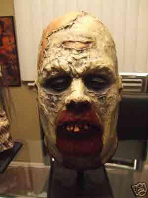 Zombie VXXFX DEAD WEIGHT DARRELL VIDAURRI ZOMBIE HEAD bust