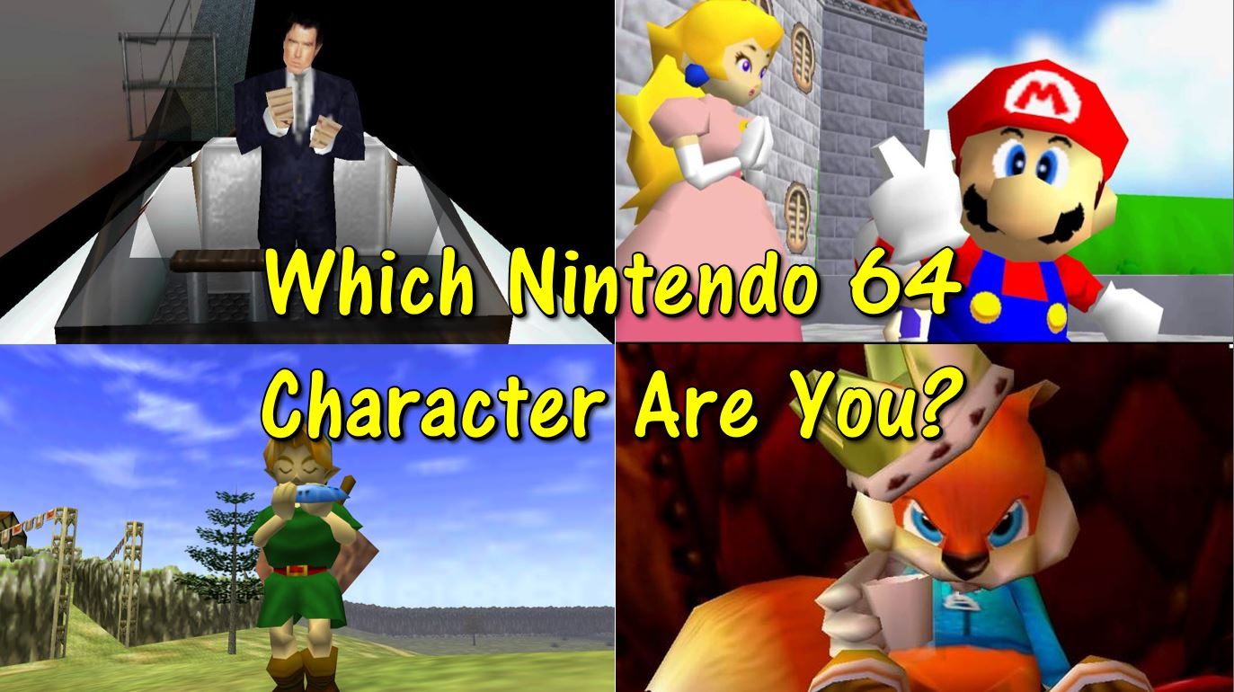 Quiz Which Nintendo 64 Character Are You