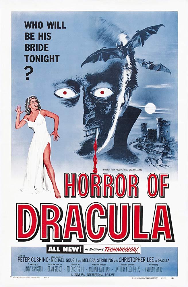 Peter Cushing Christopher Lee HAMMER Door Poster NEW