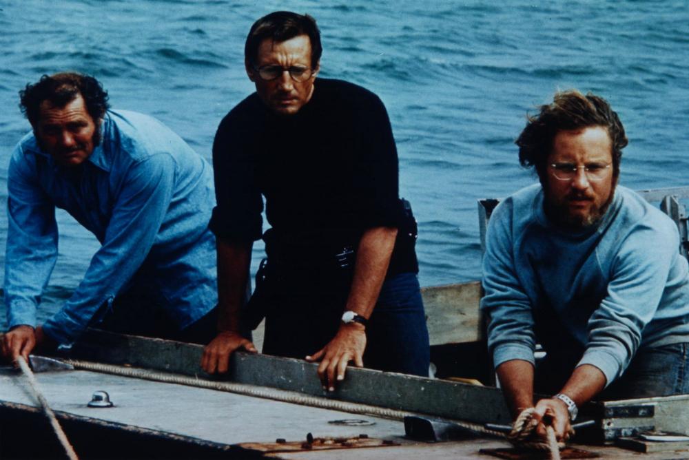 1. Jaws three main characters