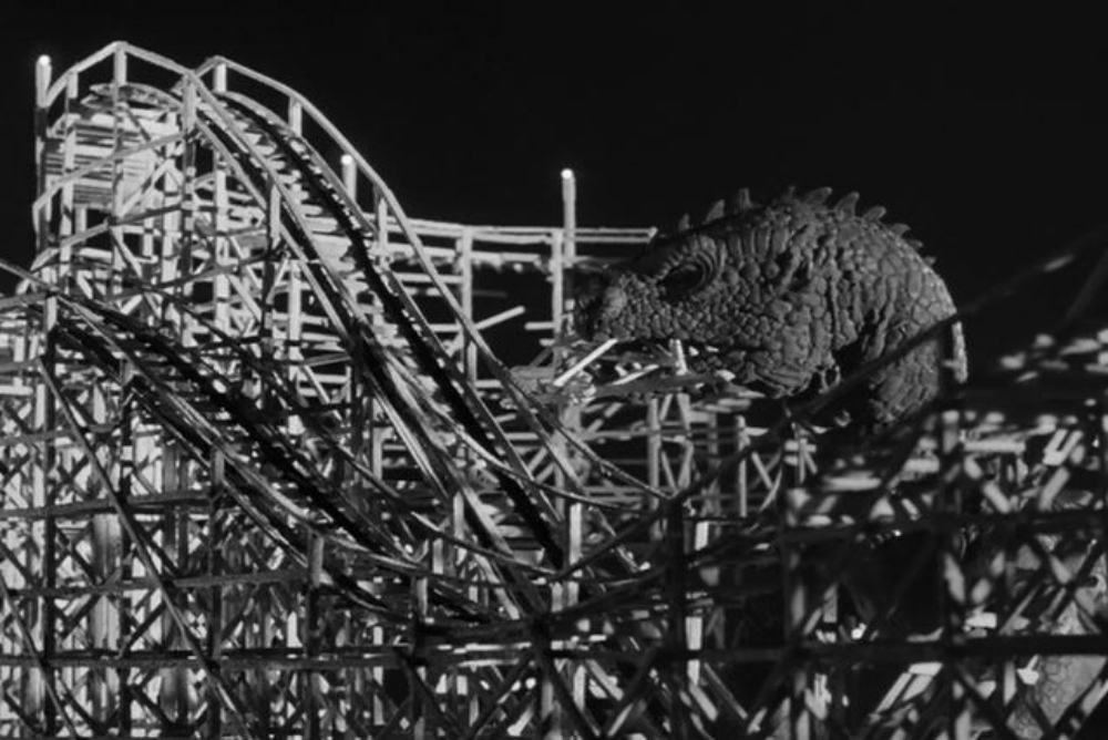 6. Beast destroying roller coaster
