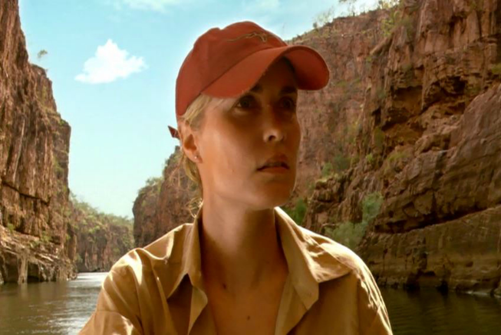 Kate (Radha Mitchell) in Rogue