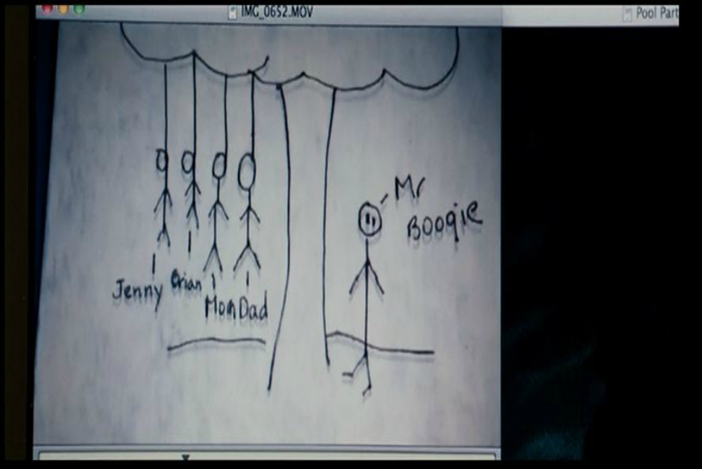 4. Sinister, the drawing of hanging