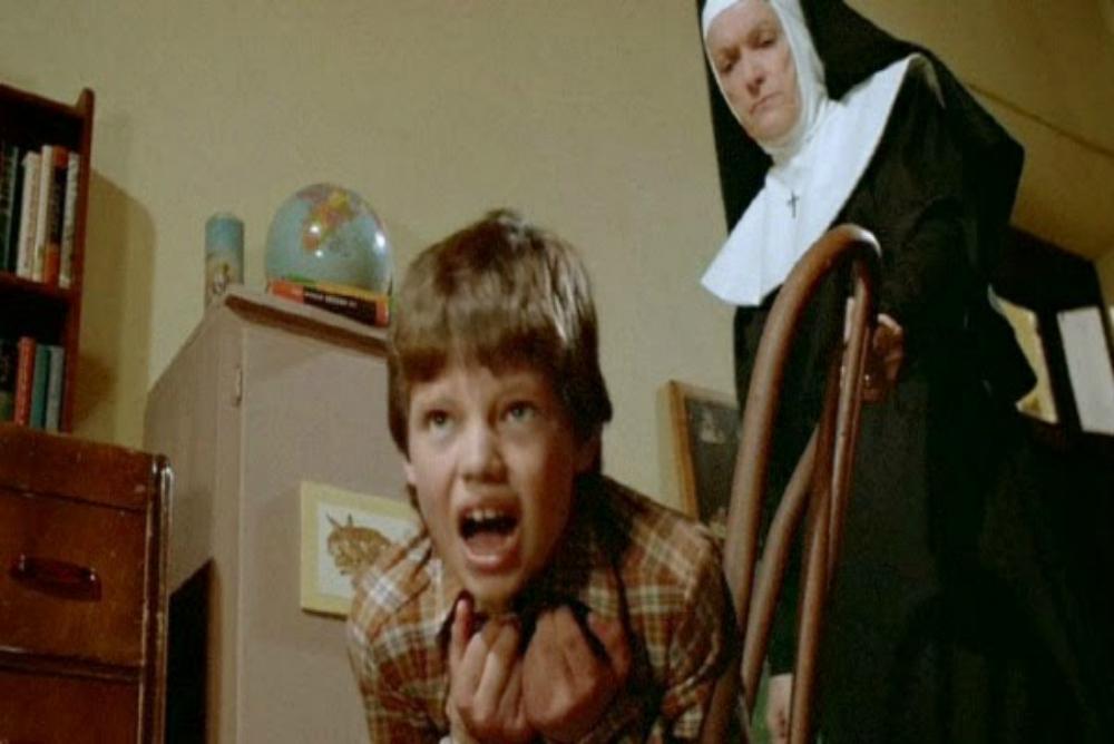 nun hitting