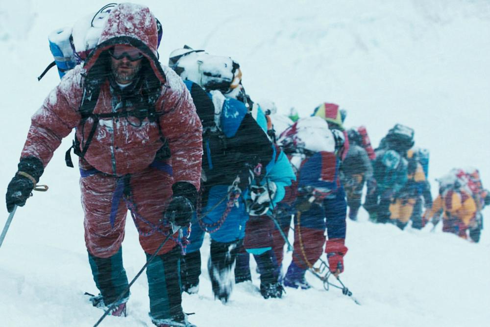 1. Everest climbers