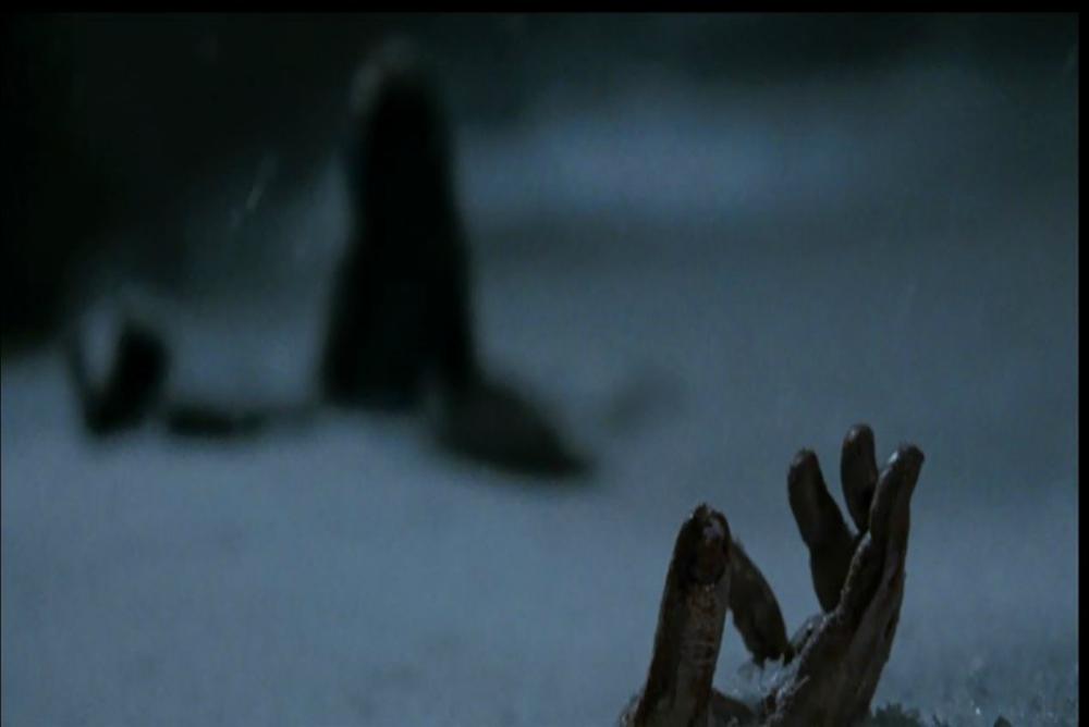 4. Frozen, Dan's hand