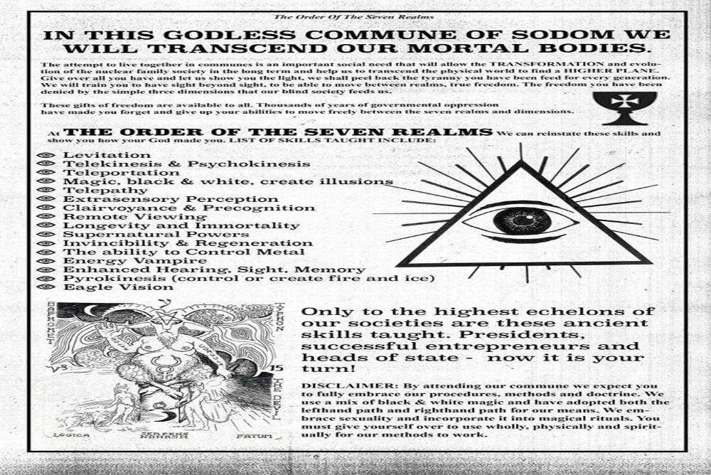 3. Commune poster
