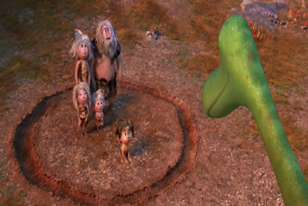 3. The Good Dinosaur, Arlo draws final circle