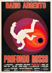 "Poster for the movie ""Profondo rosso"""