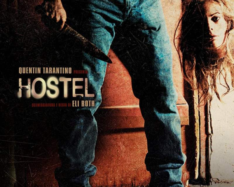 "Poster for the movie ""Hostel"""