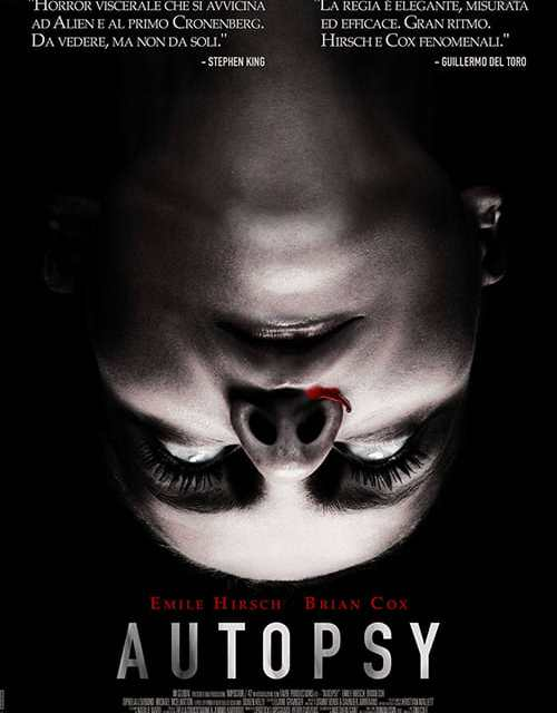 """Poster for the movie """"Autopsy"""""""