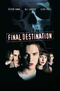 "Poster for the movie ""Final Destination"""