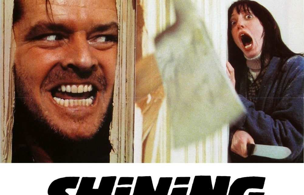 """Poster for the movie """"Shining"""""""