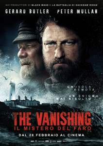 "Poster for the movie ""The Vanishing - Il mistero del faro"""