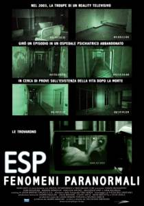"Poster for the movie ""ESP - Fenomeni paranormali"""