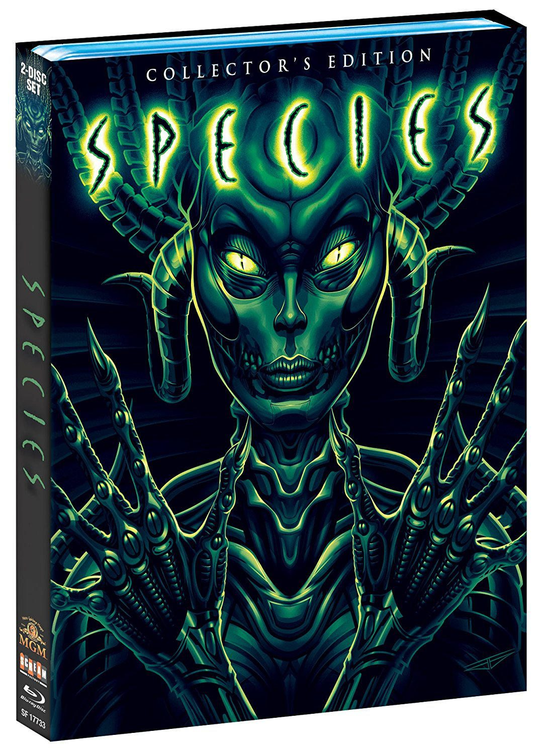 The 'Species' Collector's Editions Full Details Have Been Revealed!