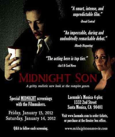 Midnight Son  January screenings