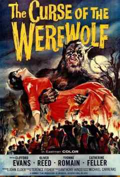 The Curse of the Werewolf movie poster