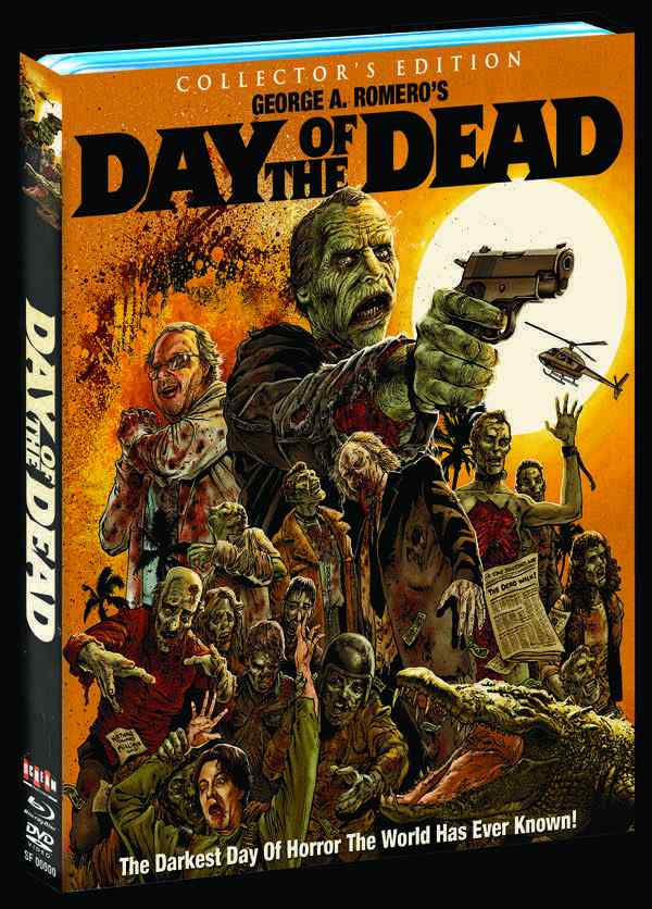 Day of the Dead bluray cover