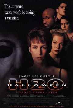 Halloween H2O movie poster
