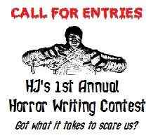 HJ's horror writing contest