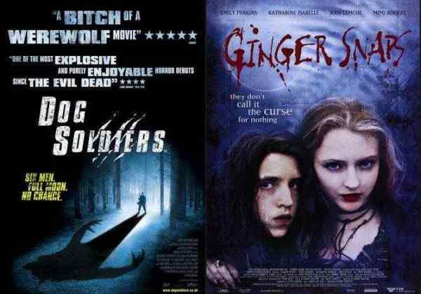 Dog Soldiers and Ginger Snaps Scream Factory announcement