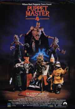 Puppet Master 4 movie poster