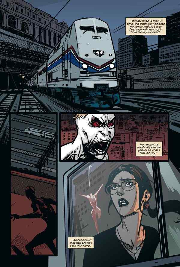 The Comic Crypt: 'The Strain: The Fall' #5 Preview ...