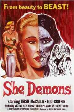 She Demons movie poster
