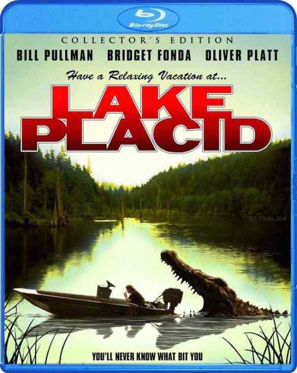 Lake Placid bluray cover