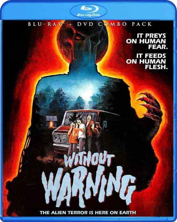 Without Warning Bluray cover