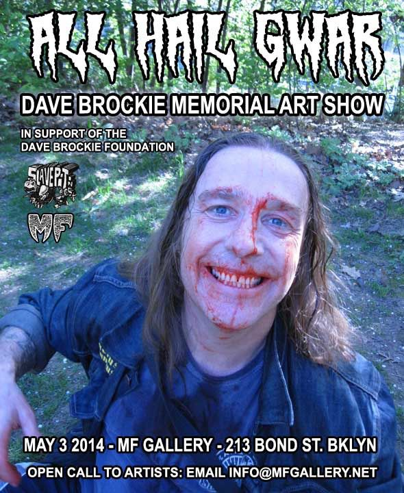 Dave Brockie Memorial Art Show