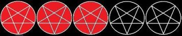 Pentagram 3 star ratings 2