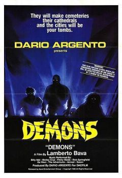 Demons movie poster
