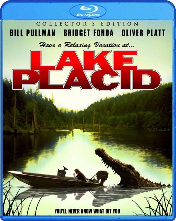 Lake Placid Bluray cover